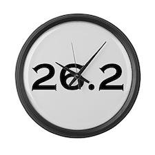 26.2 Marathon Large Wall Clock