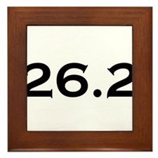 26.2 Marathon Framed Tile