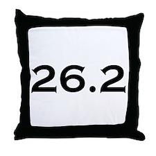 26.2 Marathon Throw Pillow