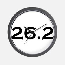 26.2 Marathon Wall Clock