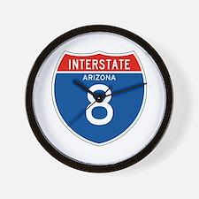 Interstate 8 - AZ Wall Clock
