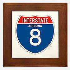 Interstate 8 - AZ Framed Tile