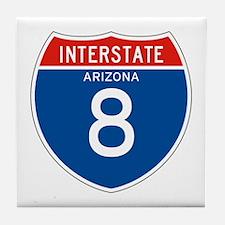 Interstate 8 - AZ Tile Coaster