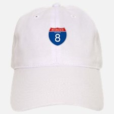 Interstate 8 - AZ Baseball Baseball Cap
