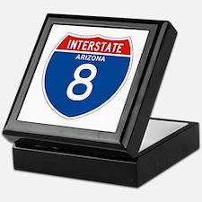 Interstate 8 - AZ Keepsake Box