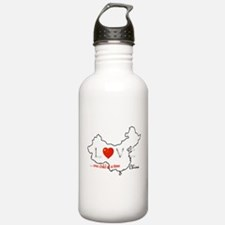 Cute Hosting Water Bottle