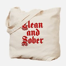 CleanSober Tote Bag