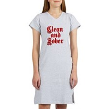 CleanSober Women's Nightshirt