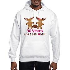36th Anniversary Moose Hoodie