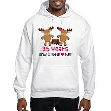 35th Anniversary Moose Hoodie