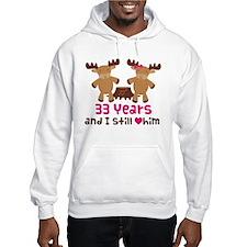 33rd Anniversary Moose Hoodie