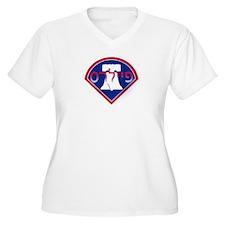 Hebrew Phillies Plus Size T-Shirt