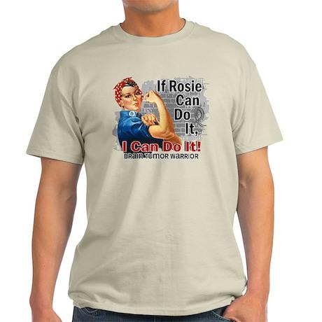 If Rosie Can Do It Brain Tumor Light T-Shirt