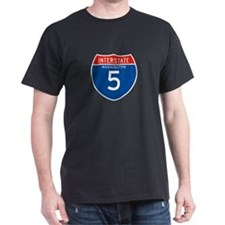 Interstate 5 - WA T-Shirt