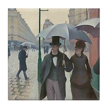 Caillebotte Paris Street Tile Coaster
