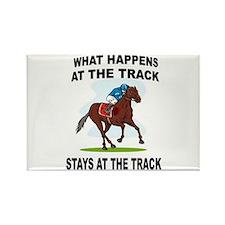 HORSE RACING Rectangle Magnet