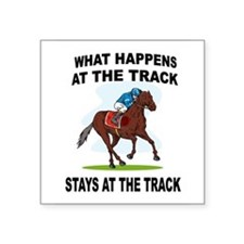 HORSE RACING Sticker