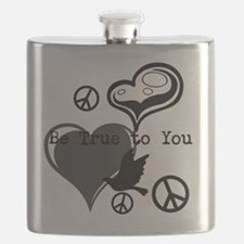 Cute Personal peace Flask