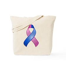 Miscarriage Awareness Ribbon Tote Bag