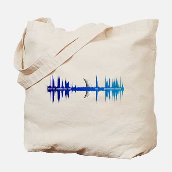 That's one small step for (a) man... Tote Bag