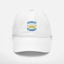Sunday Funday Vintage Baseball Baseball Baseball Cap