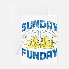 Sunday Funday Vintage Greeting Card