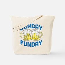 Sunday Funday Vintage Tote Bag