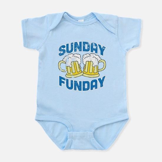 Sunday Funday Vintage Body Suit