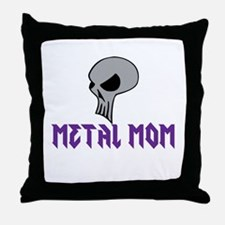 Metal MomThrow Pillow