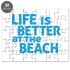 Life Is Better At The Beach Puzzle