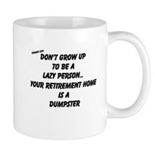 Cute Lazy person Mug