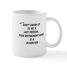 Cute Lazy person Mug