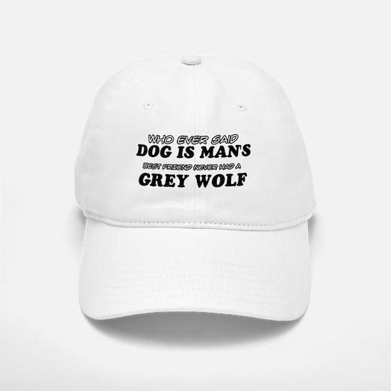 Grey Wolf Designs Baseball Baseball Cap