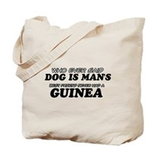 Guinea Designs Tote Bag