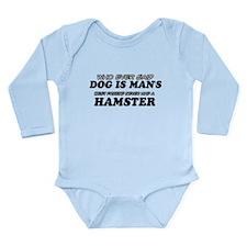 Hamster Designs Long Sleeve Infant Bodysuit