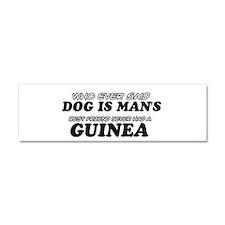 Guinea Designs Car Magnet 10 x 3