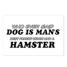 Hamster Designs Postcards (Package of 8)