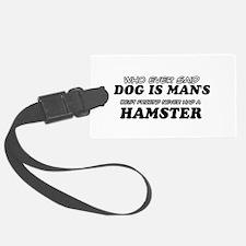 Hamster Designs Luggage Tag