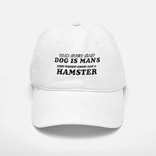Hamster Designs Baseball Baseball Cap