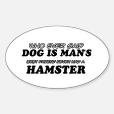 Hamster Designs Decal
