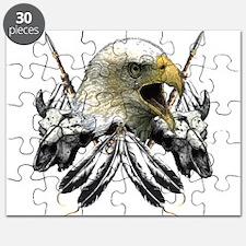 Buffalo Skull Eagle Puzzle