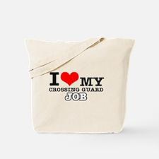Crossing Guard Job Designs Tote Bag