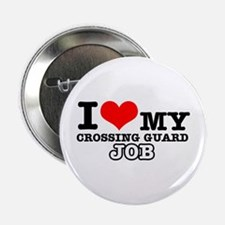 "Crossing Guard Job Designs 2.25"" Button"