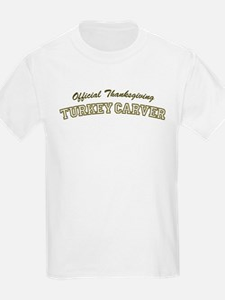 Official Turkey Carver Kids T-Shirt