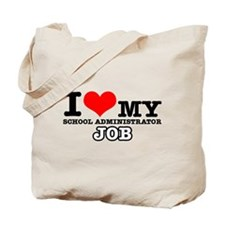 School Administrator Job Designs Tote Bag