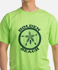 "Holden Beach NC ""Sand Dollar"" Design T-Shirt"
