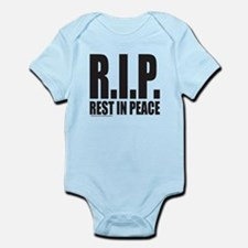 R.I.P. REST IN PEACE Infant Bodysuit