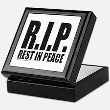 R.I.P. REST IN PEACE Keepsake Box