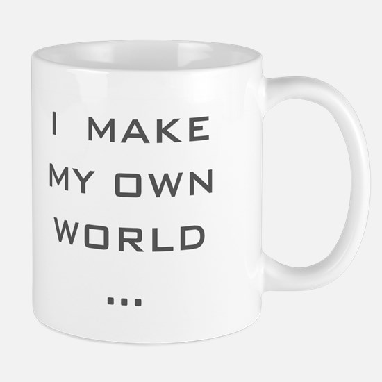 I make my Own World Mug