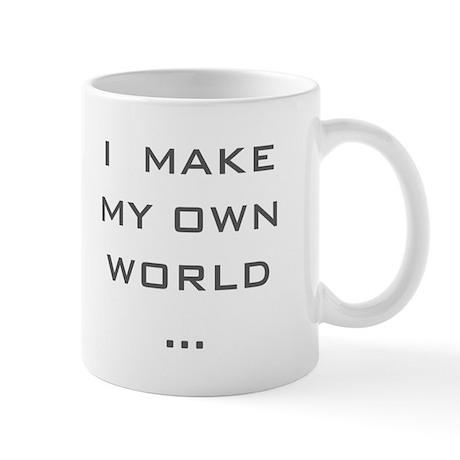 I make my Own World Mug